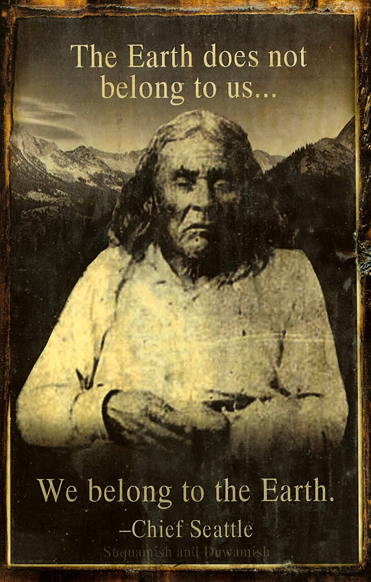 chief seattle s 1854 oration true Here's some more: today's (1992 april 21) new york times has an article entitled chief's 1854 speech given new meaning (and text) the facts are about as given in this newsgroup some months ago, but there is a bit more.